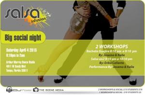 Salsa Infusion Social flyer 4/4/15