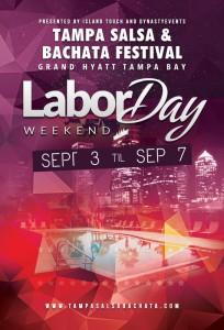 2015 Tampa Salsa & Bachata Festival flyer