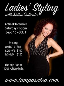 Ladies' Styling 4-Week Intensive flyer