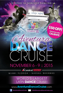 Aventura Dance Cruise 2015 flyer